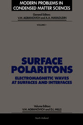 Surface Polaritons by V. M. Agranovich