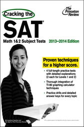 Cracking the SAT Math 1 & 2 Subject Tests, 2013-2014 Edition by Princeton Review