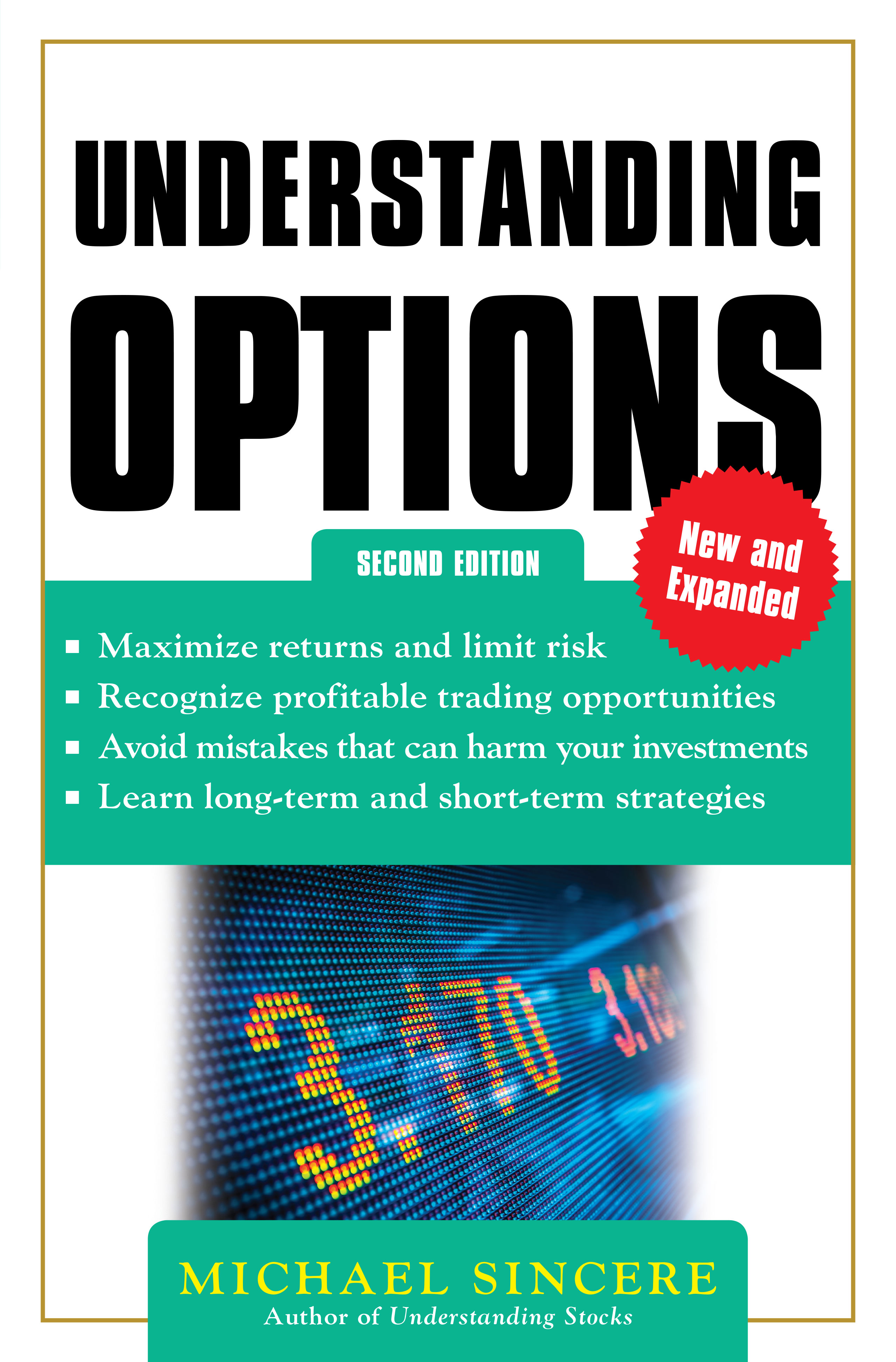 Download Ebook Understanding Options 2E (2nd ed.) by Michael Sincere Pdf