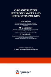 Organosilicon Heteropolymers and Heterocompounds by S. N. Borisov