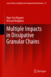 Multiple Impacts in Dissipative Granular Chains by Ngoc Son Nguyen