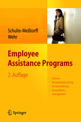Employee Assistance Programs by Claudia Schulte-Meßtorff
