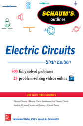 Schaum S Outline Of Electric Circuits 6th Edition Ebook