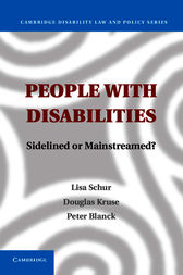 People with Disabilities by Lisa Schur