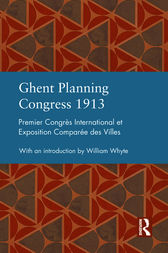 Ghent Planning Congress 1913 by William Whyte
