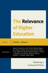 The Relevance of Higher Education by Timothy Simpson