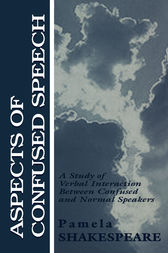 Aspects of Confused Speech by Pamela Shakespeare