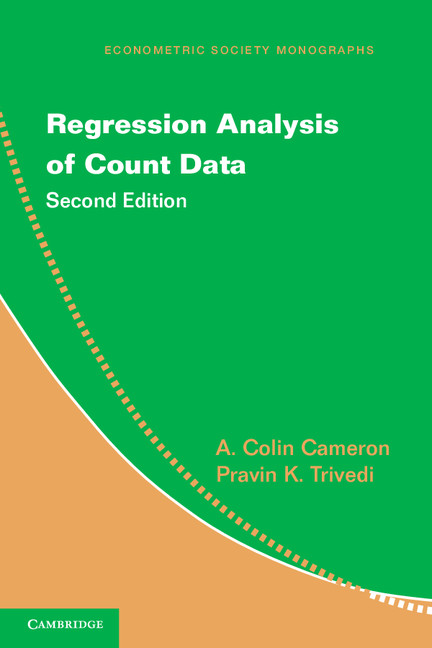 Download Ebook Regression Analysis of Count Data (2nd ed.) by A. Colin Cameron Pdf