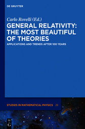 General Relativity: The most beautiful of theories by Carlo Rovelli