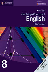 Cambridge Checkpoint English by Marian Cox