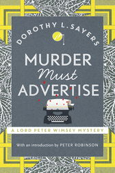 Murder Must Advertise by Dorothy L Sayers