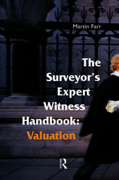 The Surveyors' Expert Witness Handbook by Martin Farr