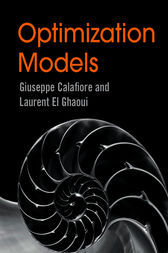 Optimization Models by Giuseppe C. Calafiore