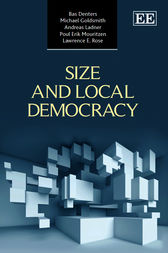 Size and Local Democracy by S. A. H. Denters