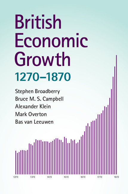 Download Ebook British Economic Growth, 1270–1870 by Stephen Broadberry Pdf