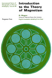 Introduction to the Theory of Magnetism by D. Wagner