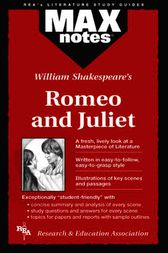 Romeo and Juliet  (MAXNotes Literature Guides) by Judy Clamon