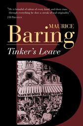 Tinker's Leave by Maurice Baring