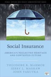 Social Insurance by Theodore R. Marmor