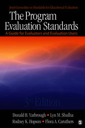 The Program Evaluation Standards by Donald B. Yarbrough
