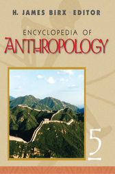 Encyclopedia of Anthropology by H. James Birx