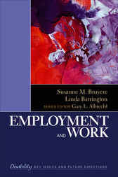 Employment and Work by Susanne Marie Bruyère