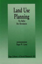 Land Use Planning by Roger W. Caves