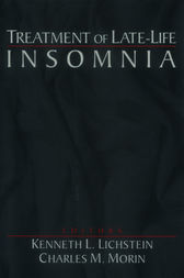 Treatment of Late-Life Insomnia by Kenneth L. Lichstein