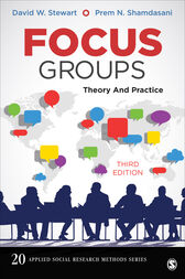 Focus Groups: Theory and Practice