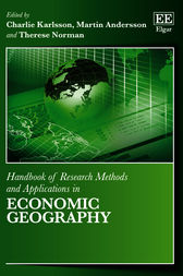 Handbook of Research Methods and Applications in Economic Geography by C. Karlsson