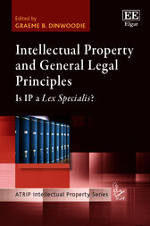 Intellectual Property and General Legal Principles by G. B. Dinwoodie