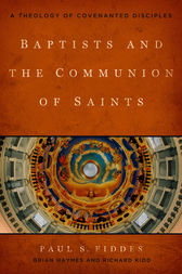 Baptists and the Communion of Saints by Paul S. Fiddes