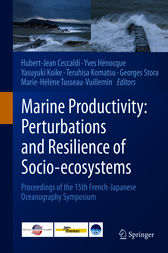 Marine Productivity: Perturbations and Resilience of Socio-ecosystems by Hubert-Jean Ceccaldi