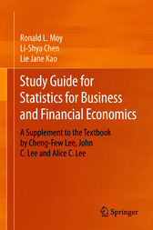 Study Guide for Statistics for Business and Financial Economics by Ronald L. Moy
