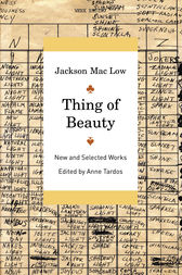 Thing of Beauty by Jackson Mac Low