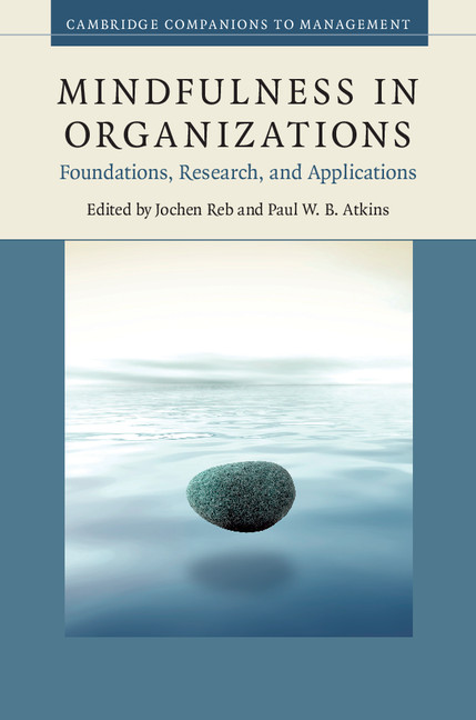 Download Ebook Mindfulness in Organizations by Jochen Reb Pdf