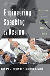 Engineering Speaking by Design by Edward J. Rothwell