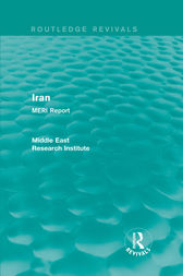 Iran (Routledge Revival) by Middle East Research Institute