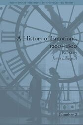 A History of Emotions, 1200–1800 by Jonas Liliequist