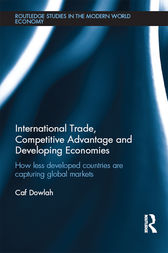 International Trade, Competitive Advantage and Developing Economies by Caf Dowlah