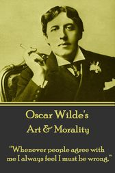 Art & Morality by Oscar Wilde