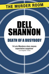 Death of a Busybody by Dell Shannon
