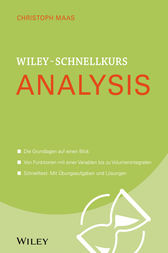 Wiley-Schnellkurs Analysis by Christoph Maas