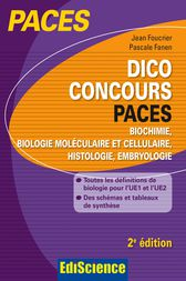 Dico Concours PACES - 2e ed. by Jean Foucrier