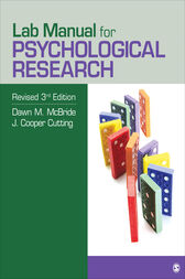 Lab Manual for Psychological Research by Dawn M. McBride
