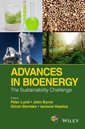 Advances in Bioenergy by Peter Lund