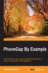PhoneGap By Example by Andrey Kovalenko