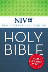 NIV, Holy Bible, eBook, Red Letter Edition by Zondervan