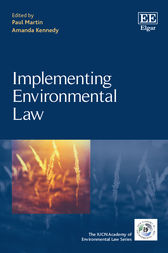 Implementing Environmental Law by Paul Martin