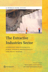 The Extractive Industries Sector by Håvard Halland